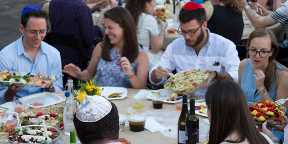 "JEM Meaningful Friday Night Shabbat Dinner - Rabbi Taieb ""Love, Marriage & Relationships"""