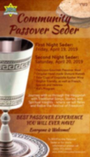 Community Passover Seder Beverly Hills
