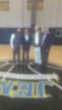 Indoor Basketball Court JEM Community Center Rabbi Hertzel Illulian
