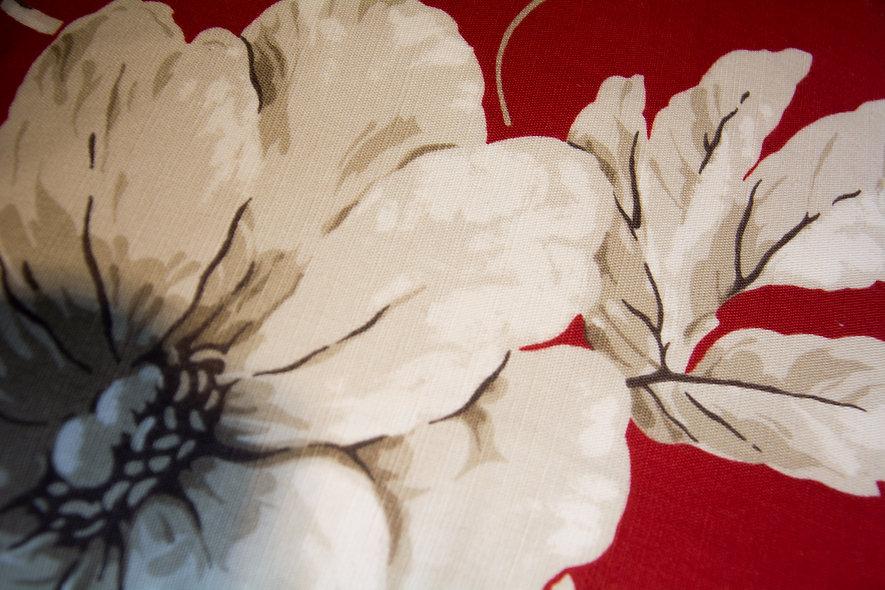 Fleur sur coussin