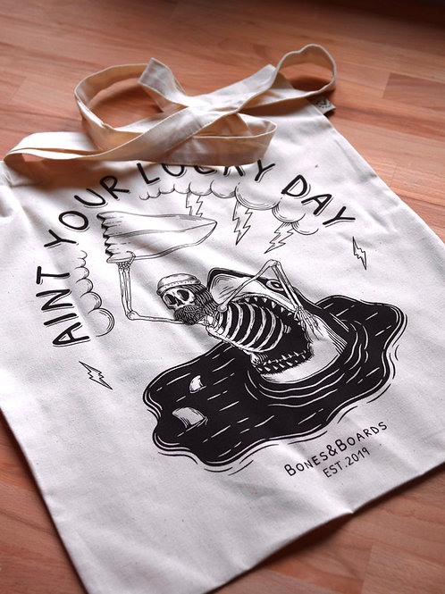 NO LUCKY DAY TOTE BAG