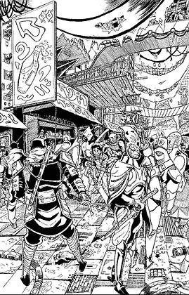 6x9 Aven Print by Kenny Millien