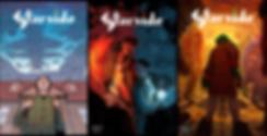 Sci-fi comic covers