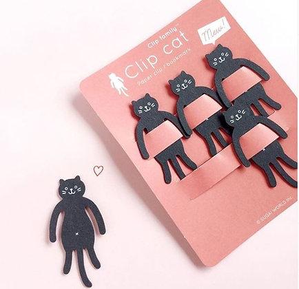 Clips Chat noir