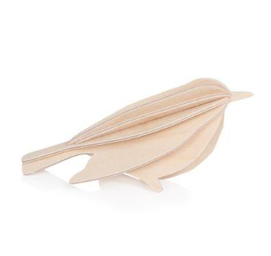 Oiseau - bois naturel