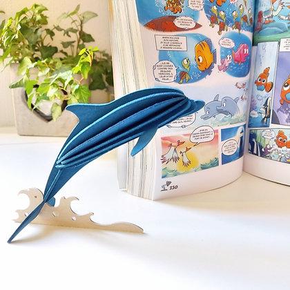 Dauphin - bleu