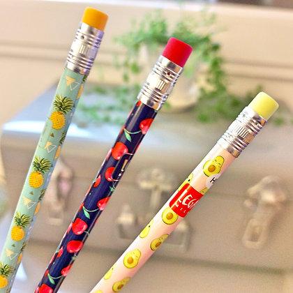 "Crayon EN papier ""Fruité"""