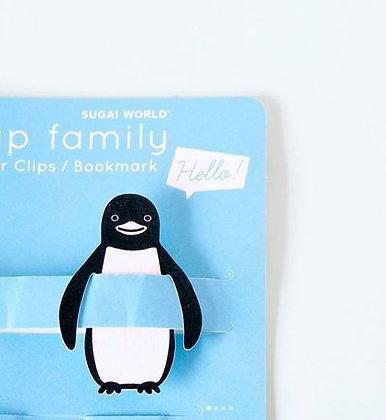 Clips Pingouin