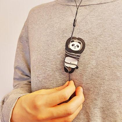 Porte écouteurs Panda
