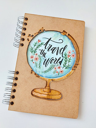 """Cahier """"Travel the world"""""""
