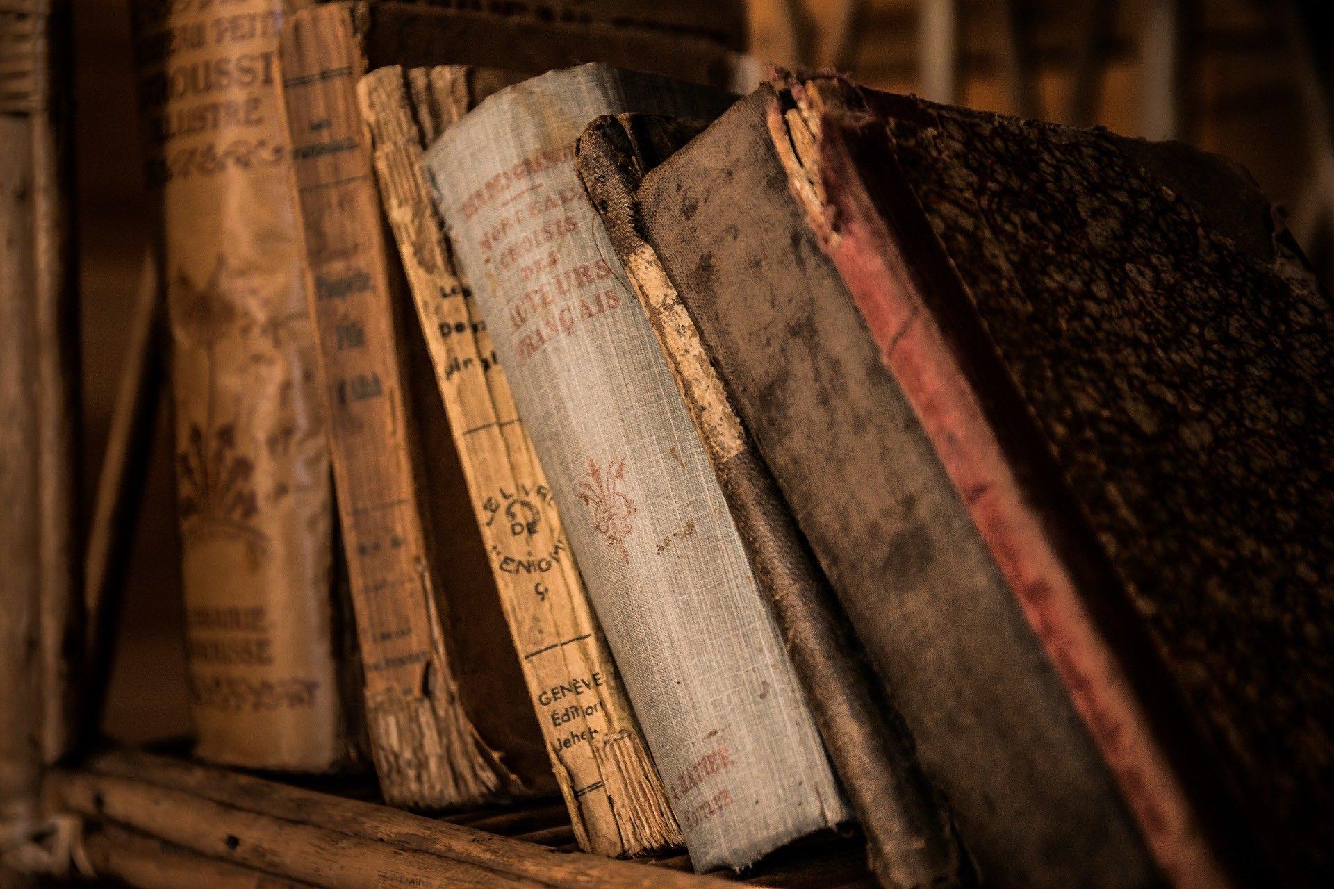 Rätsel Bücher alt
