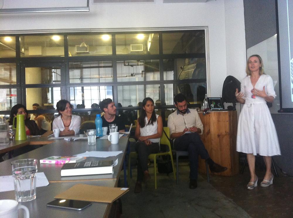 Workshop session with Natalie Jermijenko