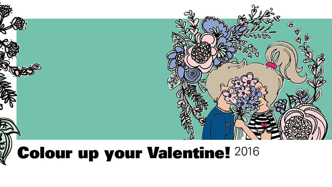 Color up your Valentine 2016 !!!