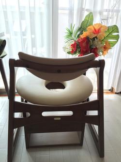 150よもぎ蒸し椅子