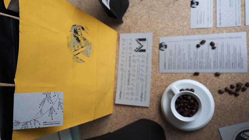 KaffeeRösterei Corporate Design