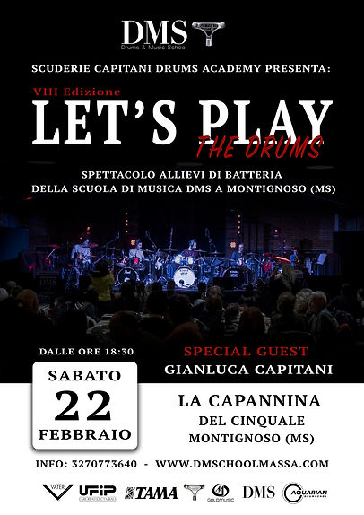 A3_Locandina Let's Play the Drums 2020.j