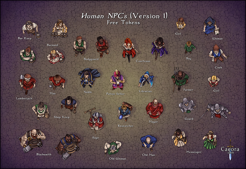 NPC Packs - Humans