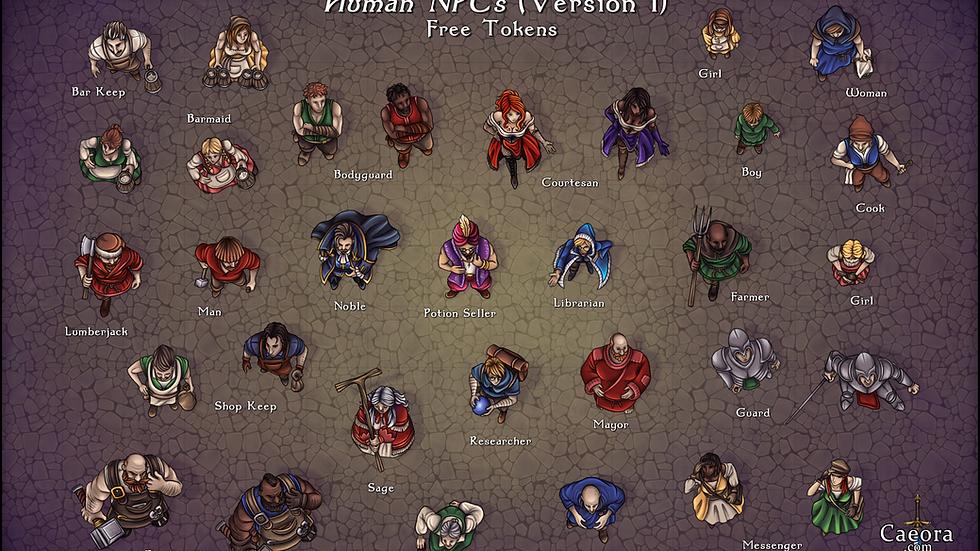 NPC Packs - Humans