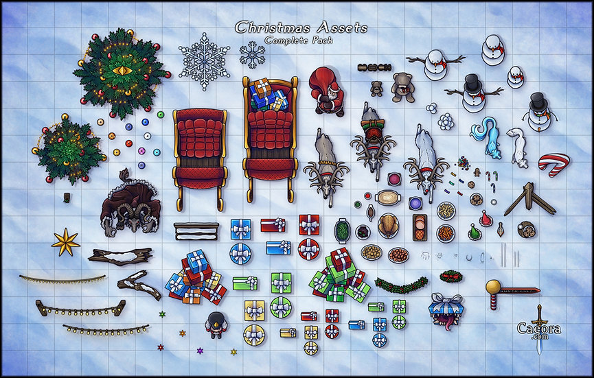 Christmas Assets - Complete