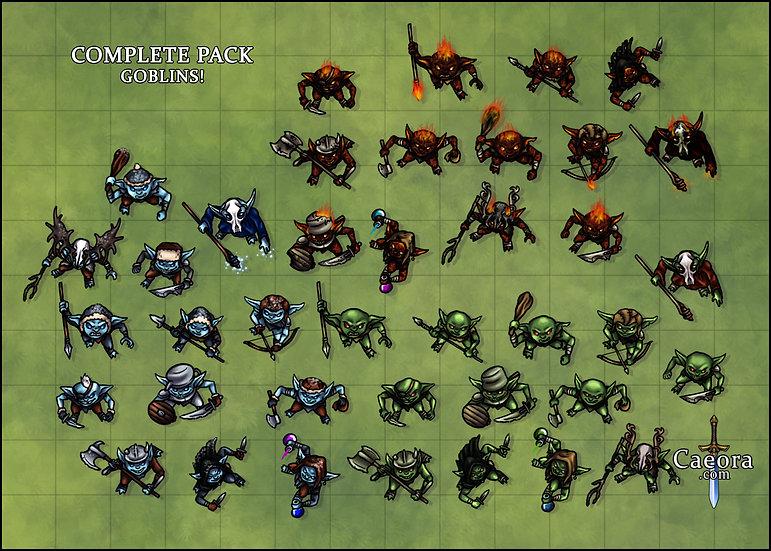 Complete Pack: Goblins!