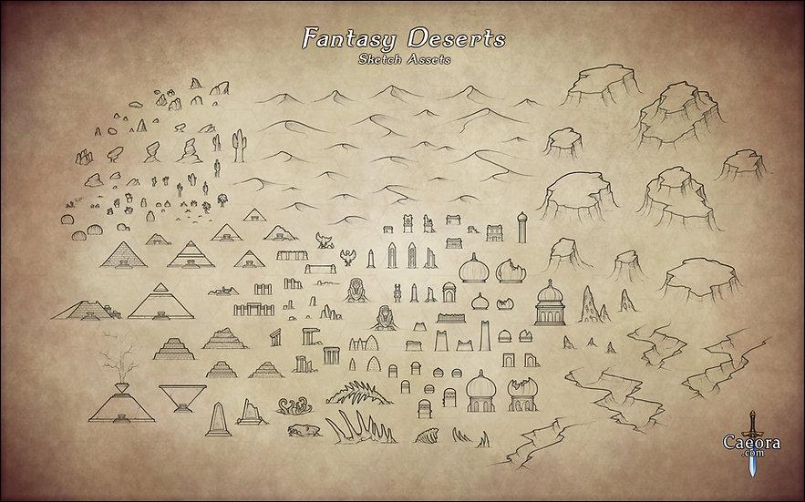 Fantasy Deserts