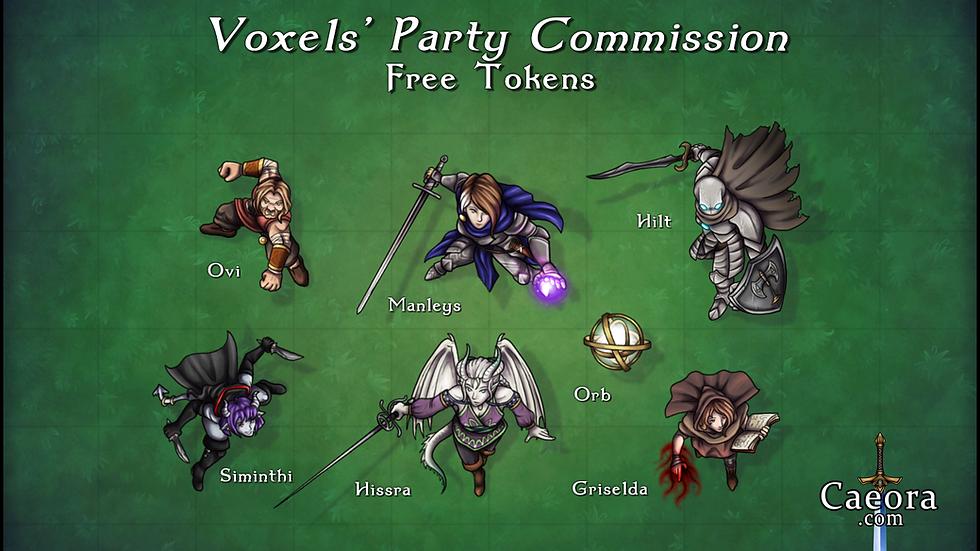 Voxels' Party Commission