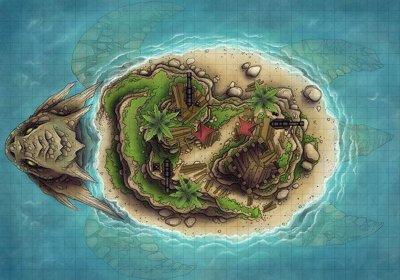 Dragon Turtle Island