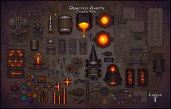 Dwarven Assets Display