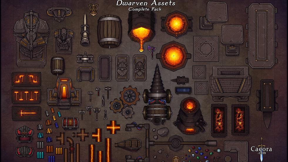Dwarven Assets - Complete