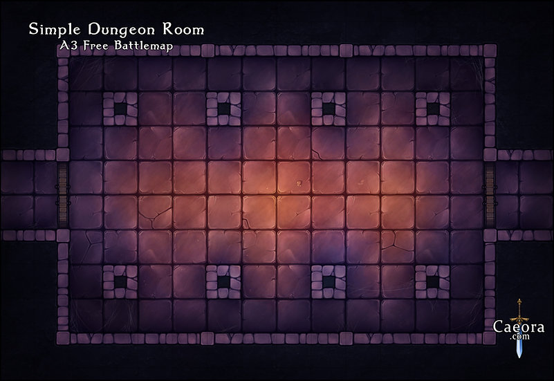 Simple Dungeon Room
