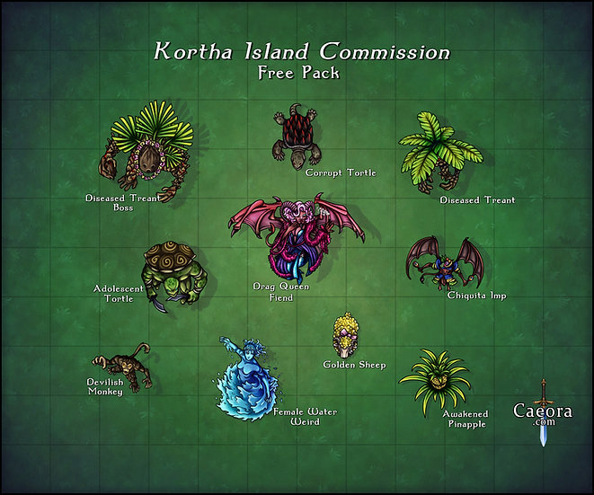 Kortha Island Commission
