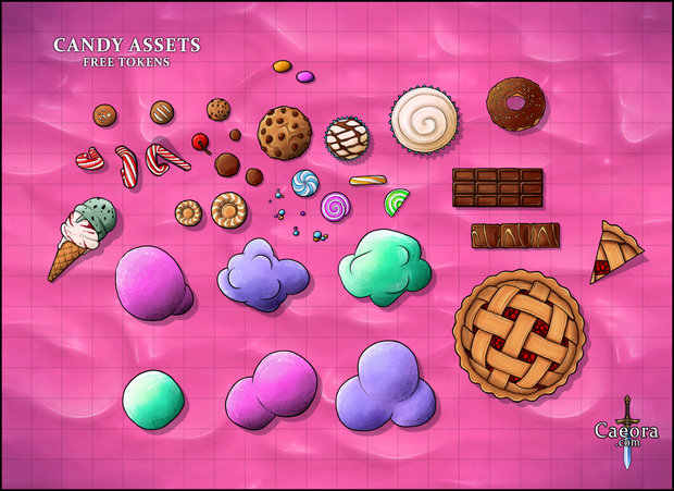 Candy Assets