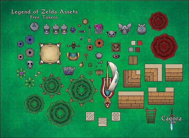 Zelda Assets