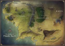 Middle Earth, Bilbo, Frodo Journey  - Co