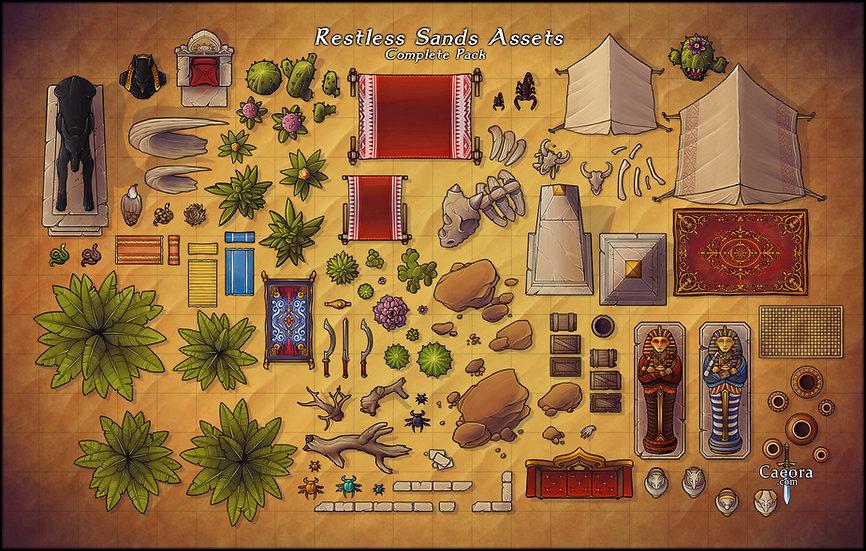 Restless Sands Assets - Complete