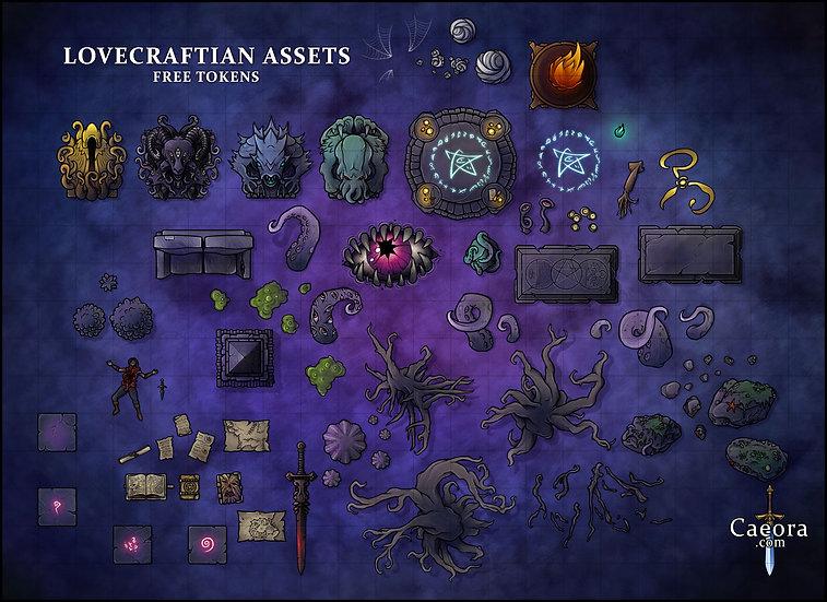 Lovecraftian Assets