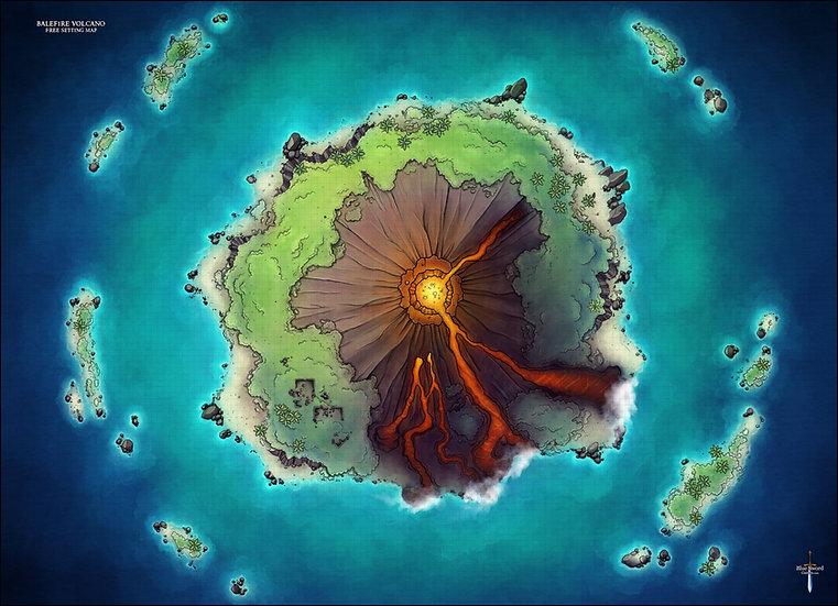 Balefire Volcano