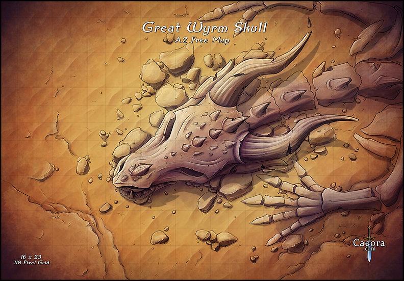Great Wyrm Skull
