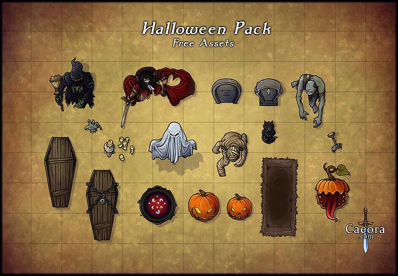 Halloween Assets - Free