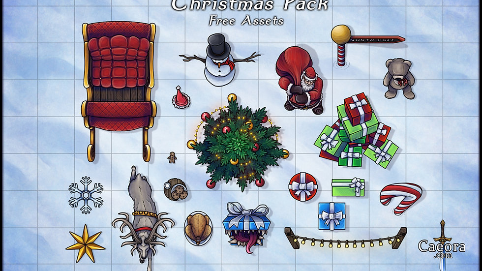 Christmas Assets - Free