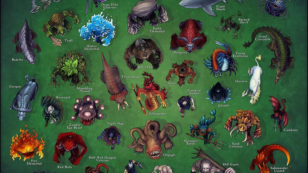 Monster Manual CR 5 - Free