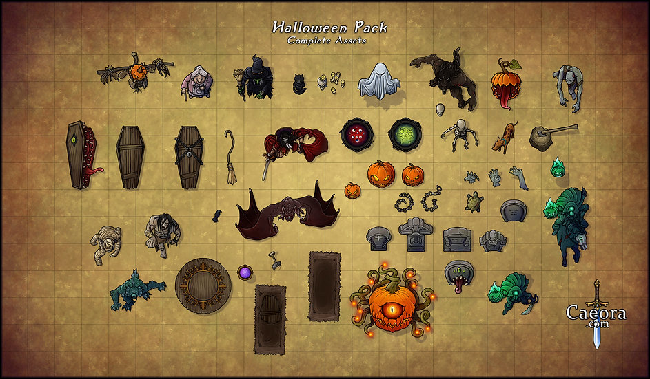 Halloween Assets - Complete Pack