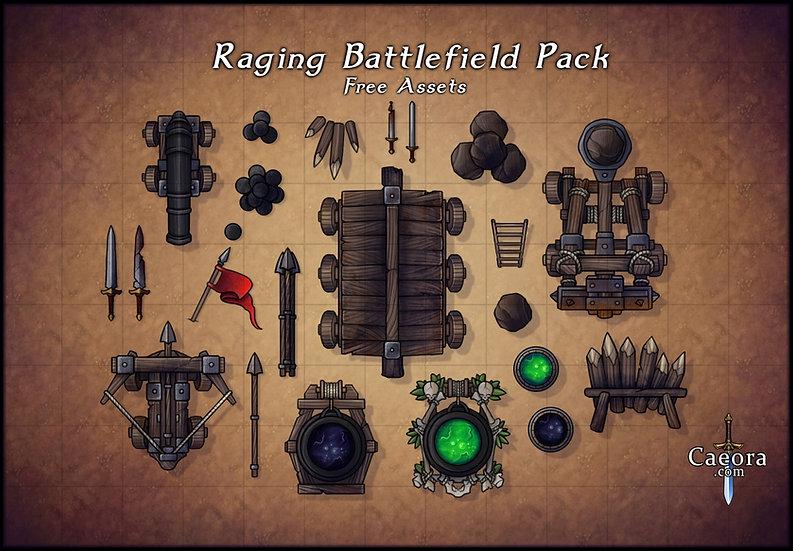 Raging Battlefield Assets - Free