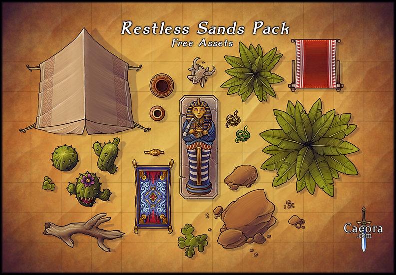 Restless Sands Assets - Free