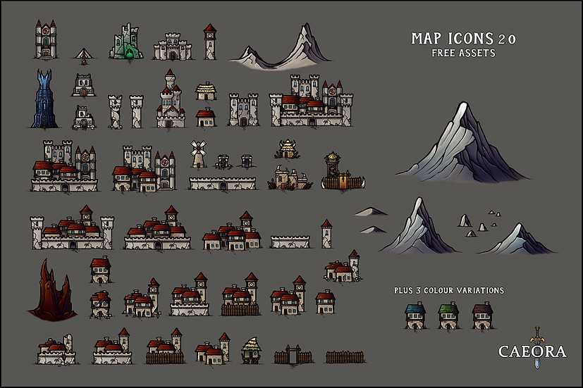 Map Icons 2.0