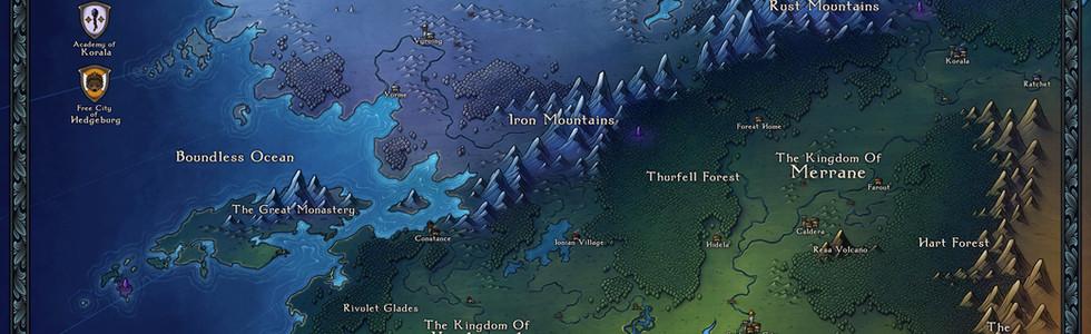 Lhodos Region Map Colour
