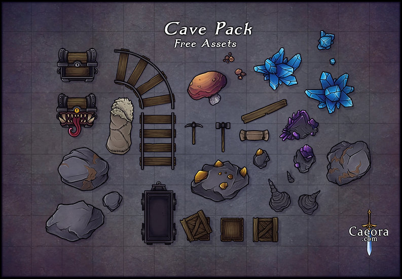 Cave Assets - Free