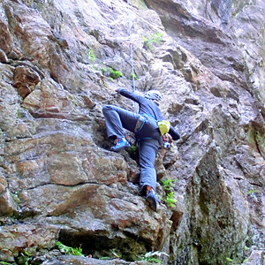 Outdoor Climbing Tenno-Iwa