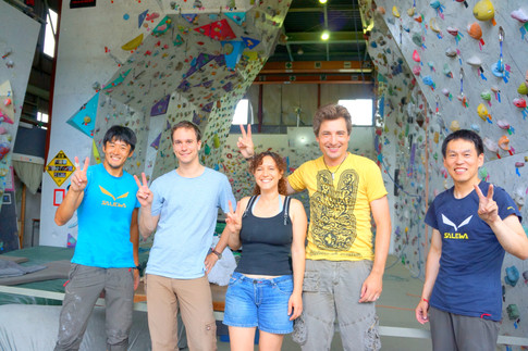 Indoor Climbing Lessons