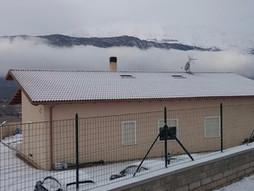 """termografia """"naturale"""" grazie alla neve"""